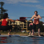 Personal Trainer SupFit Wollongong Stand up Paddle Board Get Fit the the Water